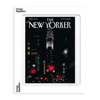 Affiche The Newyorker colombo night 56x76cm