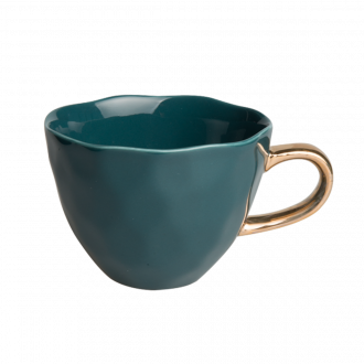 Tasse Good Morning Mini Bleu Vert