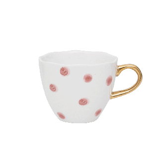 Mug Good Morning Dots Mini Cameo Marron