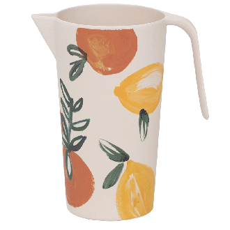 Pitcher Bambou Sicilian Summer Love Orange