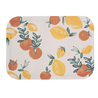 Plateau Bambou Sicilian Summer Love Orange
