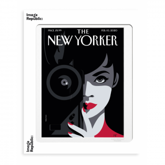 Affiche The Newyorker favre behind the lens - 56 x 76 cm