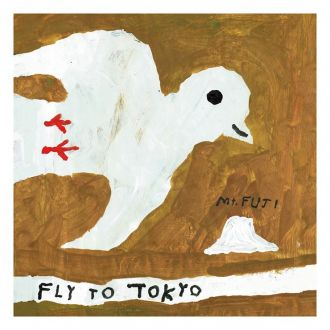 Poster fly to tokyo 50x50cm