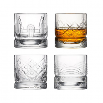 Set de 4 gobelets whisky dandy