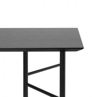 Plateau de table Mingle bois noir