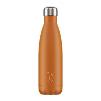 Bouteille isotherme Matte orange 500 ml