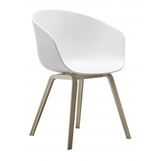 Fauteuil about a chair Blanc