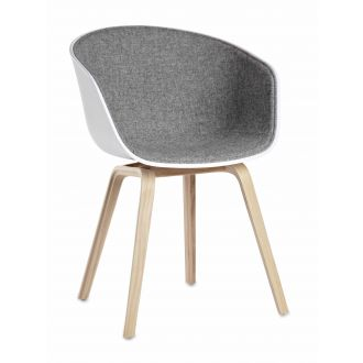 About a Chair chair with textile interior Grey