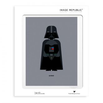 Le Duo Solo Vader 30 x 40 cm Poster