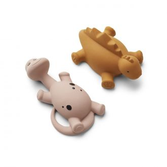 Set de 2 Jouets de bain Algi Rose Mix