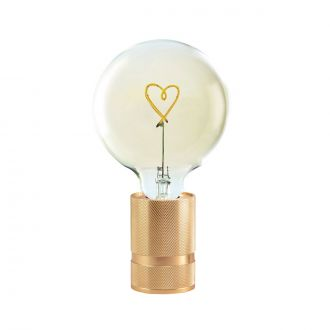 Lampe de table Socle Madison Cuivre