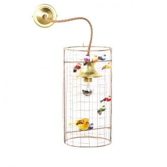 Birdcage Wall Lamp