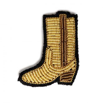 Broche Botte Or