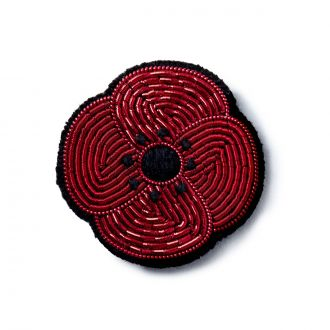 Broche Mini Coquelicot