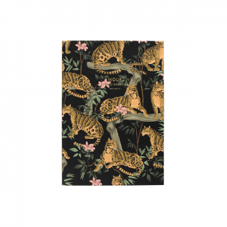 Carnet Black Lazy Jungle A5