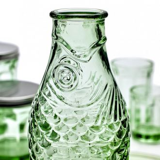 Green Fish Bottle by Paola Navone
