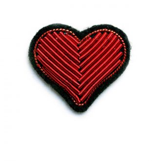 Broche Coeur Rouge