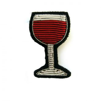 Wine Glass Brooch