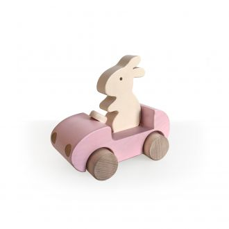 Voiture Bunny Rose