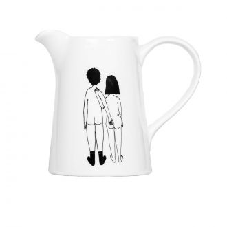 Carafe Couple Nu Dos