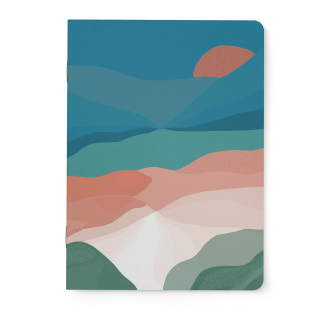 Carnet Notebook A5 Fjord