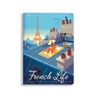 Carnet Monsieur Z French life 15x21cm