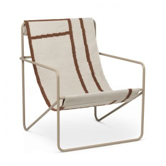 Lounge Chair Desert Cashmere / Shapes