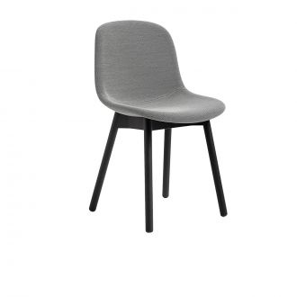 Chair Neu 13 Textile Two-tone light grey