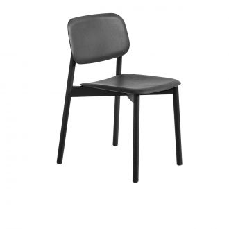 HAY - Soft Edge Oak Chair in Black