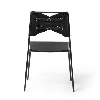 Torso Black Chair & Black Leather