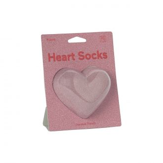 Chaussettes Coeur Rose