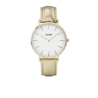 Montre Metallic La Bohème Gold White/Gold