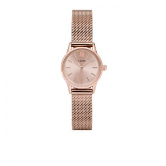Montre La Vedette Mesh Full Rose Gold