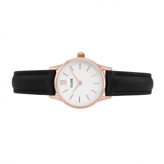 Montre La Vedette Rose Gold White/Black