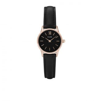 Montre La Vedette Rose Gold Black/Black