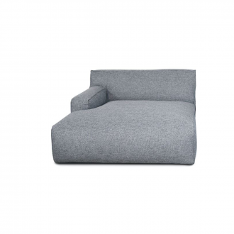 Accoudoir Gauche Clay Longchair - 1,5 places - Polvere 90 Gris