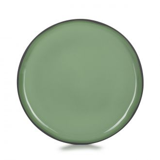 ASSIETTE PLATE CARACTERE 26CM Menthe MADE IN FRANCE