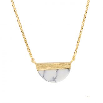 Collier Galaxy Moon B - Blanc