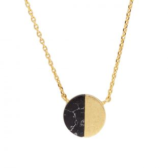 Collier Galaxy Moon C - Noir
