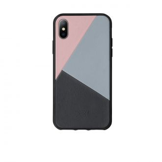 Coque iPhone X Clic Marquetry Rose
