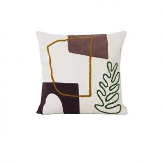 Coussin Mirage Feuille