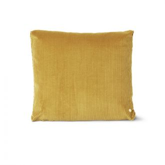 Coussin Corduroy Moutarde