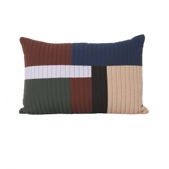Coussin Shay Quilt Cannelle GM
