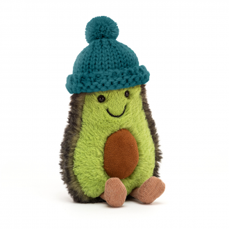 Peluche Amuseable Avocat - Bonnet sarcelle