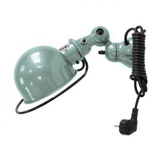 Loft D1000 Vespa Green Wall Light + Cord