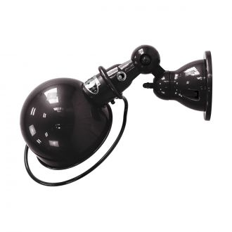 Loft D1000 Shiny Black Wall Light