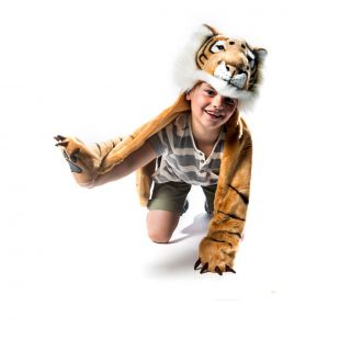 Furry Tiger Costume
