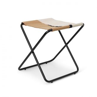 Tabouret Desert Stool Black/Soil