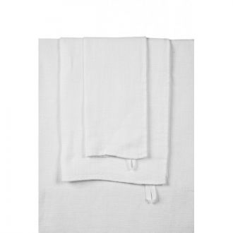 Mini serviette Java - 30 x 50 - Blanc