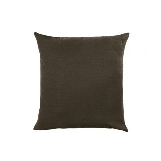 Coussin Propriano brownie S - 45 x 45 cm